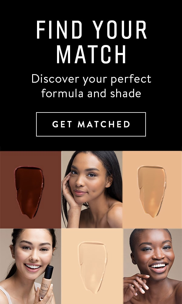 Find Your Match, Discover your perfect formula and shade