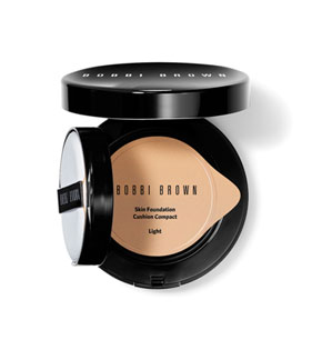 Skin Foundation Cushion Compact SPF 30 with Empty Compact - Medium to Dark